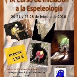 IX Curso de iniciación a la Espeleología